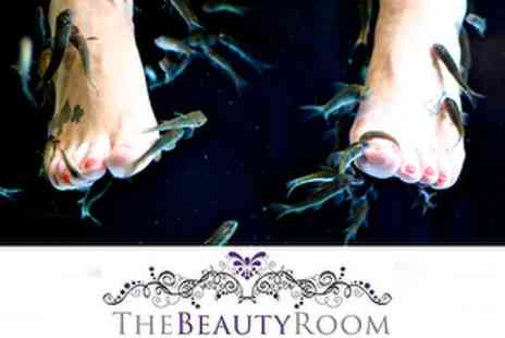 The Beauty Room - £10 Fish Pedicure with Foot Massage and File & Polish - Save 60%