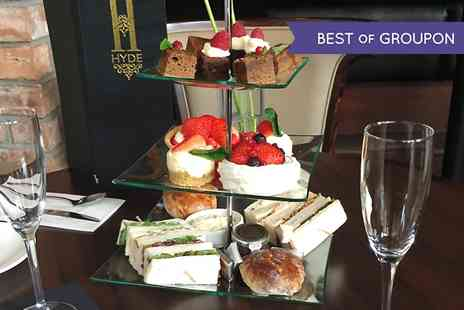 Hyde Bar Grill Dining - Afternoon Tea With Prosecco For Two - Save 0%
