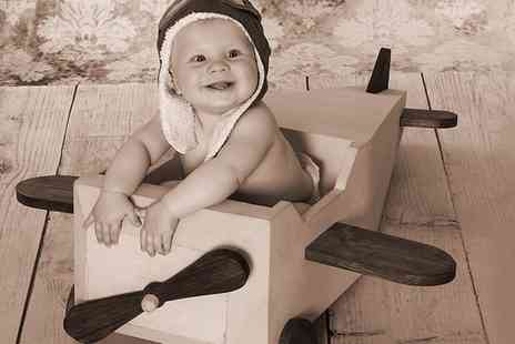 Morecambe Photographic - Watch Me Grow Cherubs Photoshoot Package With Prints  - Save 90%
