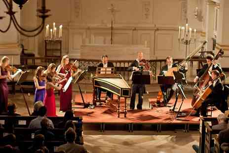 CMG Promotions - One Ticket to  London Concertante Performs Vivaldis and Bachs Concertos by Candlelight   - Save 41%