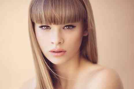 The Salon Hessle - Cut and Blow Dry With Half Head Highlights or Full Head Colour  - Save 55%
