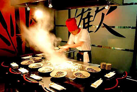 Benihana - Japanese Teppanyaki Meal with Sparkling Sake for Two in Piccadilly or Chelsea - Save 0%