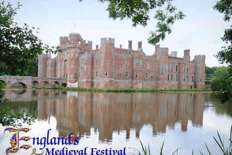 Englands Medieval Festival - Ticket to Englands Medieval Festival  - Save 21%