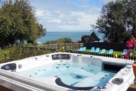 Luccombe Manor Country House Hotel - Two Night Stay for Two Adults with Breakfast Daily, Three Course Dinner, and Return Car Ferry - Save 40%