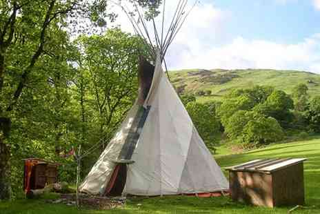 Eco Retreats - Two Night stay in a tipi at Eco Retreats With October half term availability - Save 43%