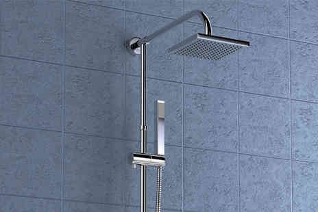 To Your Home - Valore II Square Twin Head Thermostatic Shower - Save 76%