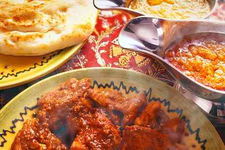 Le Spice Merchant - Two Course Indian Meal With Wine For Two - Save 44%