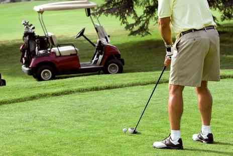 Glynneath Golf Club - Round Of Golf For Two  - Save 63%