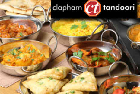 Clapham Tandoori - Two main courses Tandoori  £10 instead of up to £29.90 - Save 67%