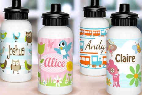 Dinkleboo - Personalised Kid's Aluminium Drinking Bottle - Save 56%
