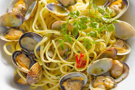 Ferraris - Two Course Meal with Wine and Coffee for Two - Save 43%