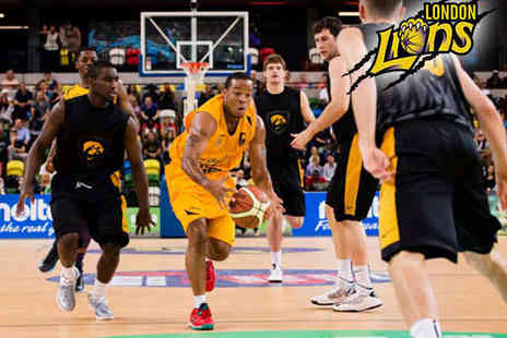 London Lions Basketball - London Lions vs UMASS Basketball Match on Saturday August 22  - Save 51%