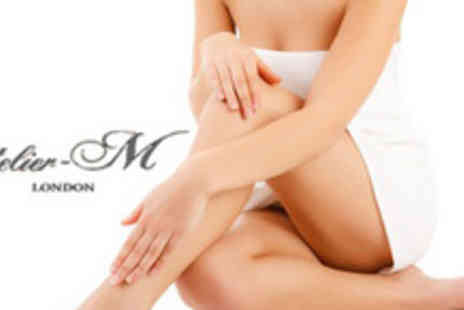 Atelier M - 6 Sessions of IPL hair removal on 2 small areas and 1 medium area - Save 89%