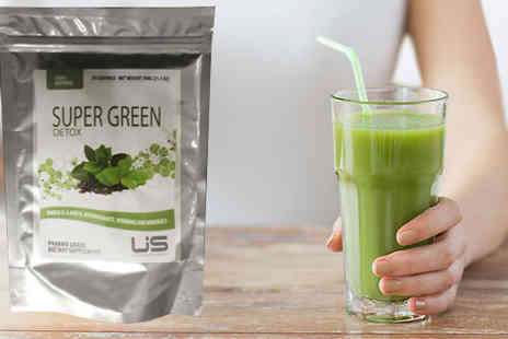 Ultra Supplements - 30 Day Supply of Super Green Detox Shakes - Save 68%