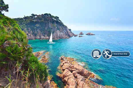 New Wave - Four or Seven nights Costa Brava break for two including half board Three star accommodation - Save 44%
