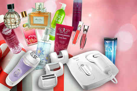 Wowcher Direct - Mystery Beauty Box   - Save 0%
