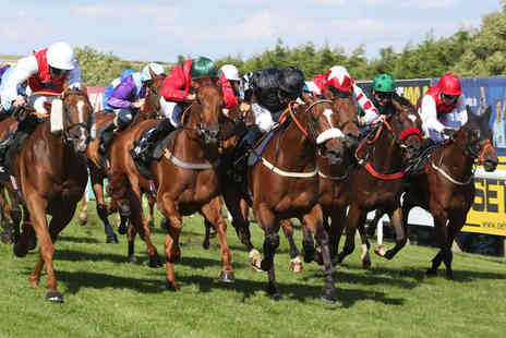 Brighton Racecourse - Family Fun Raceday Entry for Two   - Save 50%