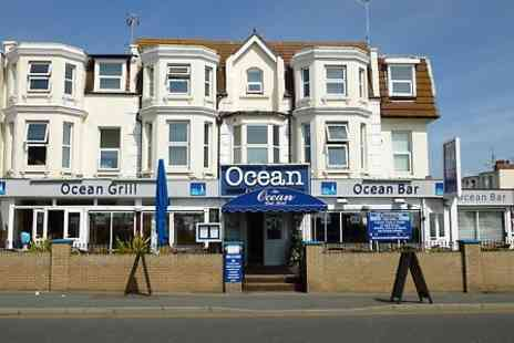 The Ocean - One or Two  Nights Stay For Two With Breakfast  - Save 0%