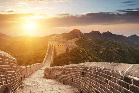 Luxury Round Trip - 15 day round trip of China with return flights, meals - Save 35%