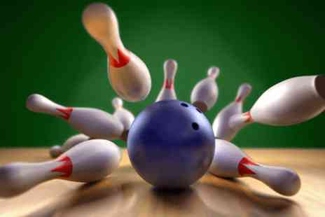 PSL Bowling - One game of bowling for Four with a soft drink each - Save 72%