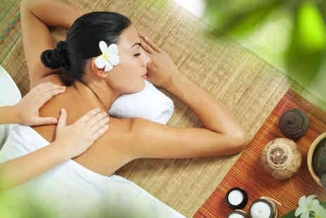 50 Shades of Beauty - One hour neck and shoulder massage and back exfoliation including a 30 minute facial  - Save 65%