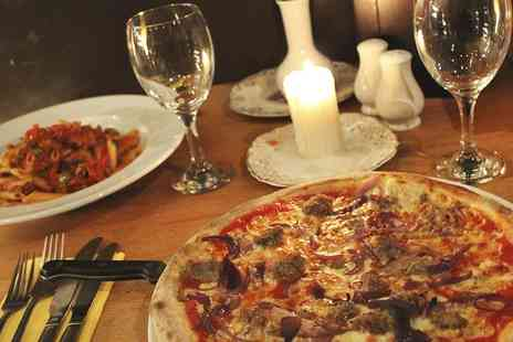 Esca Italian Restaurant - Pizza, Pasta or Risotto Meal With Wine For Two - Save 52%