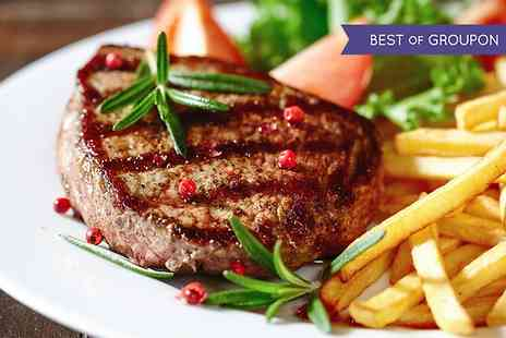 Brasserie 19 - Two Course Steak Meal For Two - Save 53%