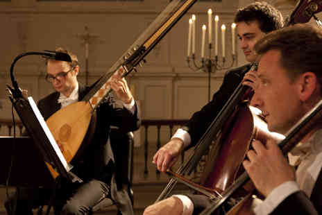 London Concertante - Tickets to London Concertante Vivaldi and Bach Concertos by Candlelight - Save 40%