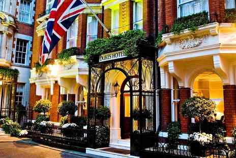 Dukes Hotel - Luxury Award Winning Mayfair Stay with Breakfast - Save 35%