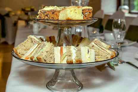 Alfreton Hall - Sparkling Afternoon Tea in Delightful Derbyshire for Two  - Save 55%