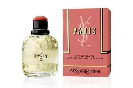 Groupon Goods Global GmbH - 50ml Yves Saint Laurent Paris Eau De Toilette for Women - Save 35%