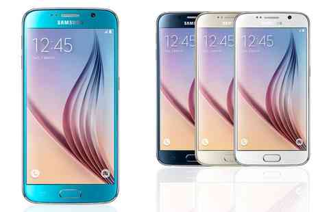 Mobiles - 24 Month Contract Samsung Galaxy S6on  Unlimited Mins, Texts plus 3GB Data, Free Delivery - Save 0%