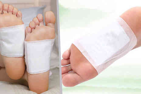 Home Shopping Selections - 10 Pack of Detox Foot Beds - Save 75%