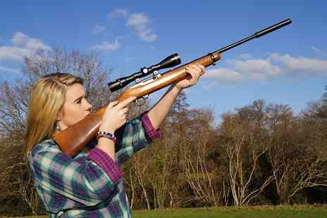 Unlimited Events - One hour air rifle experience  - Save 50%