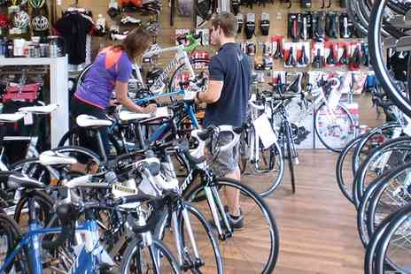 Pitsford Cycles  - £20 voucher to spend on bike accessories and clothing - Save 50%