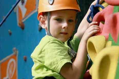 St Vincent Leisure Centre - Two Hour Indoor Climbing for One Child, Adult or Family of Four  - Save 53%