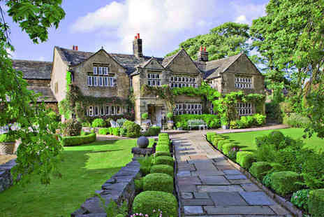 Holdsworth House - Overnight Stay for Two Including Breakfast, Cream Tea on Arrival, and Late Checkout - Save 41%
