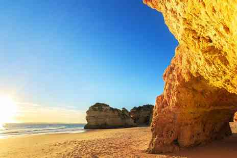 Dom Jose Beach Hotel - Four, Seven or Fourteen Night stay in The Algarve including flights transfers and breakfast - Save 0%