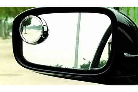 Rubybliss Global - Blind Spot Wing Mirror Attachment - Save 68%