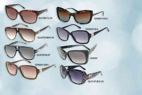 Shop On Time  - Pair of Guess sunglasses   - Save 81%