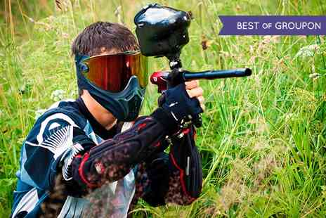 Paintball HQ - Paintball With Lunch and 100 Balls for One - Save 73%