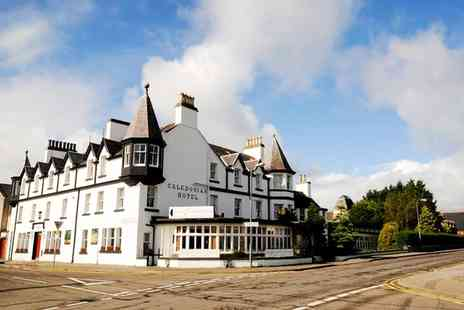 Caledonian Hotel - One to Three Nights Stay With Breakfast, Dinner and Bubbly  - Save 57%