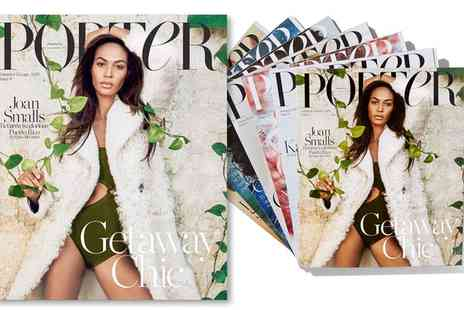 Net A Porter - One Year Porter Magazine Subscription With Free Delivery - Save 12%
