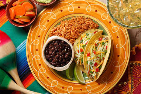 Sombrero Mexican Restaurant - Tantalising Two Course Mexican Grill Meal with Beer for Two - Save 47%