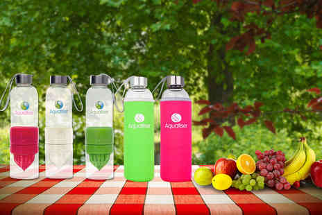 Aquatiser - Reusable fruit infusing water bottle - Save 60%