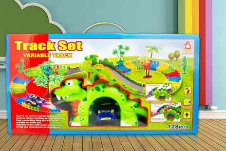 A-Z Distributions - 128pc car track set  - Save 0%
