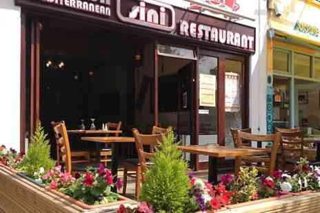 Sini Restaurant - Two Course Turkish Meal For Two  - Save 47%