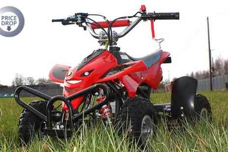 STO Racing Products - 49cc Mini Off Road Petrol Quad Bike in Choice of Colour  - Save 52%