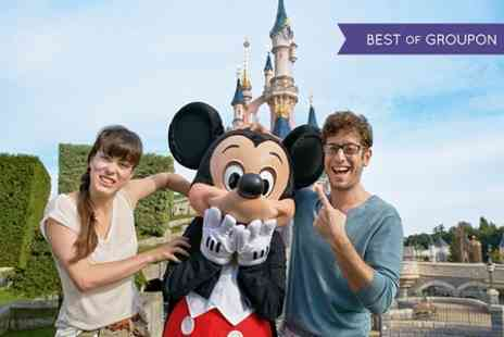 Galleon Travel - Disneyland Paris Two Night Return Coach, Ferry and 1 Day Park Hopper Pass For One  - Save 38%