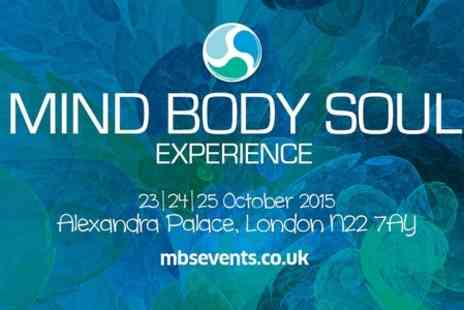 Mind Body Soul Experience - One Day Entry for Two to the Om Yoga Show  - Save 55%